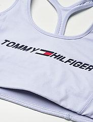Tommy Sport - LIGHT INTENSITY GRAPHIC BRA - sport bras: low support - sweet blue - 2