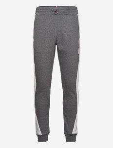 BLOCKED SEASONAL PANT - pantalons - dark grey heather