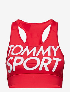 SPORTS BRA LOGO MEDIUM - sport bras: medium - true red