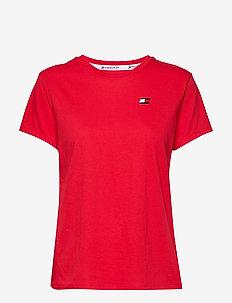 Mesh T-Shirt '85' - TRUE RED