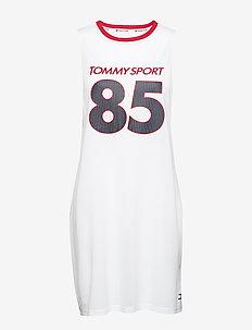 Sleeveless Dress '85' - sportieve jurken - pvh white
