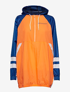 WINDBREAKER DRESS - anoraks - bird of paradise
