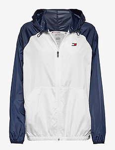 BLOCKED WINDBREAKER - sports jackets - pvh white