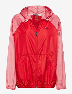 BLOCKED WINDBREAKER - sports jackets - true red