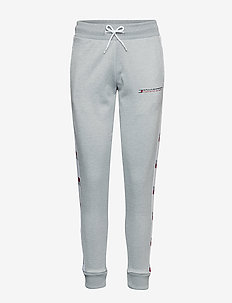 FLAG TAPE JOGGER - GREY HEATHER