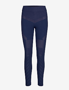 WARPKNIT LEGGING - running & training tights - blue ink