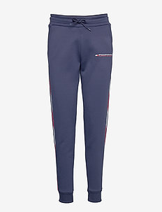 FLEECE JOGGER WITH TAPE - treenihousut - sport navy