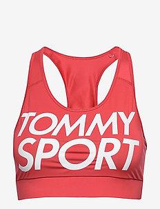SPORTS BRA LOGO MID - sport bras: low - cardinal
