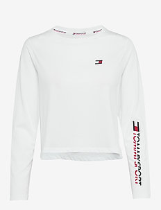 LONG SLEEVE TEE - PVH CLASSIC WHITE