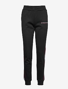 FLEECE PANTS WITH FAST TAPE - pantalons - pvh black