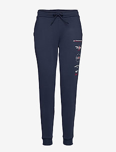 GRAPHIC JOGGER TAPER - pantalons - sport navy