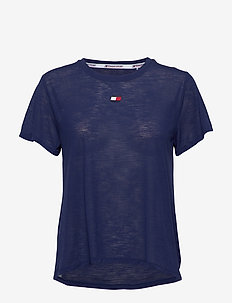 PERFORMANCE LBR TOP - t-shirts - blue ink