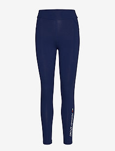 CO/EL 7/8 LEGGING - running & training tights - blue ink