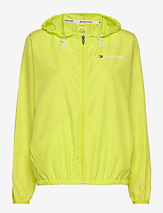 WINDBREAKER BACK LOG - træningsjakker - lemon lime