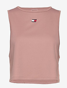 PERFORMANCE TANK TOP LBR - tank tops - red dust