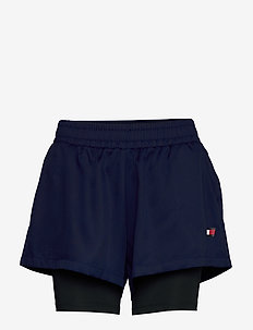 "3"" 2-IN 1 WOVEN SHOR - trening shorts - blue ink"