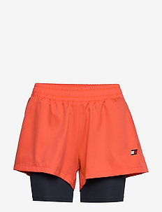 "3"" 2-IN 1 WOVEN SHORT LBR - training shorts - bright vermillion"