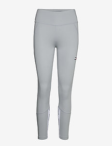 HIGHWAISTED TAPE LEG - running & training tights - grey heather