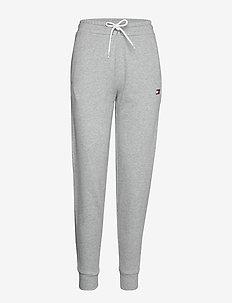 CUFF FLEECE LEG TAPE - pantalons - grey heather