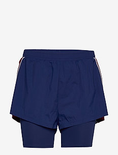 2-IN-1 WOVEN SHORTS - BLUE INK