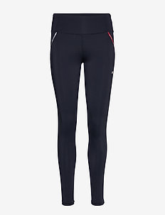 LEGGING PIPING - running & training tights - desert sky