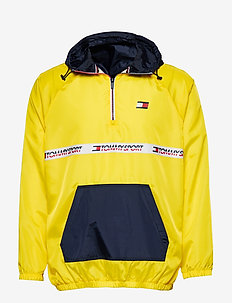 Windbreaker with Tape Detail - BLAZING YELLOW
