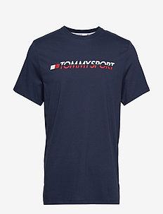 T-Shirt Logo Chest - SPORT NAVY