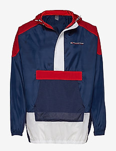 1/2 ZIP WINDBREAKER - anoraks - sport navy
