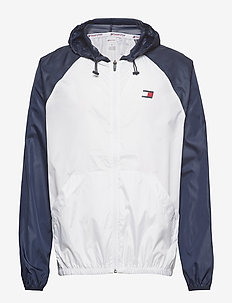 WINDBREAKER WITH BAC - PVH WHITE