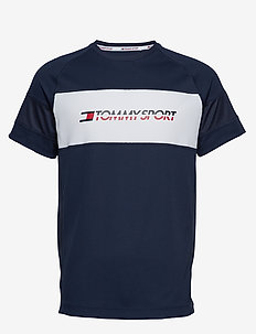 PERFORMANCE MESH TEE - SPORT NAVY