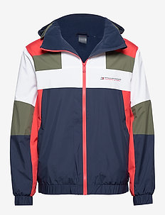 BLOCK FULL ZIP JACKET - outdoor- & regenjacken - sport navy