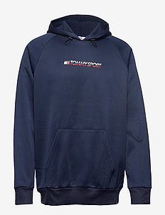 OVERSIZE FLEECE HOOD - SPORT NAVY