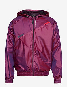 WOVEN HOODED TRACK JACKET - training jackets - hibiscus