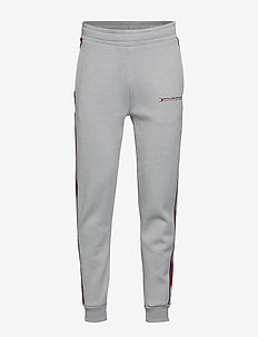 FLEECE TRACK PANT WI - GREY HEATHER