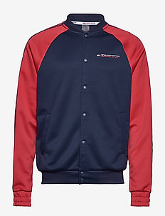 TAPE TRACK JKT - basic sweatshirts - sport navy