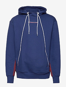 FLEECE HOODY - BLUE INK