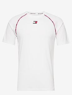 PIPING TRAINING TOP - topy sportowe - white
