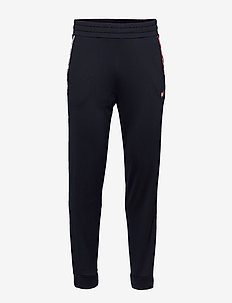 PIPING TRACKSUIT CUFFED PANT - sweatpants - desert sky