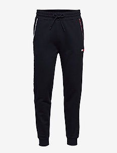 PIPING FLEECE CUFFED PANT - sweatpants - desert sky