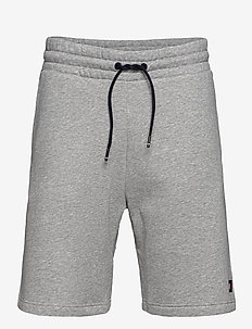 FLEECE SHORT - casual shorts - grey heather