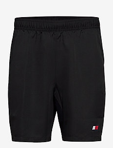 "LOGO WOVEN FLAG SHORT 7"" - casual shorts - pvh black"