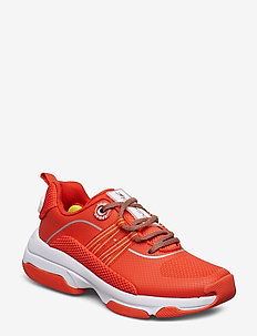 WMN SPORT CITY SNEAK - chunky sneakers - cherry tomato