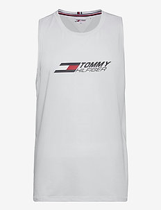 ESSENTIALS TRAINING TANK - topjes - white