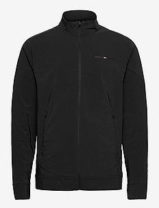 WOVEN TRACKSUIT JACKET - training jackets - black