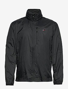 FULL ZIP WINDBREAKER - sportsjakker - black
