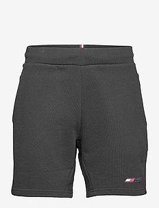 TERRY LOGO SHORT - casual shorts - black