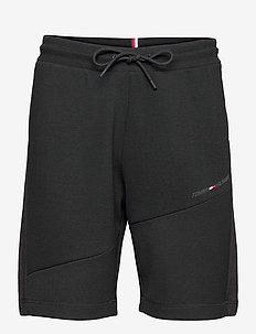 BLOCKED TERRY SHORT - casual shorts - black