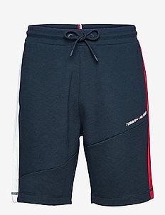 BLOCKED TERRY SHORT - casual shorts - desert sky