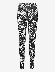 RW AOP LEGGING - leggings - palm print black