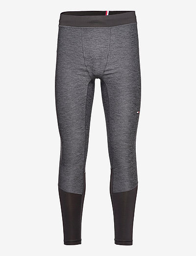 ESSENTIALS TIGHT - base layer bottoms - dark grey heather